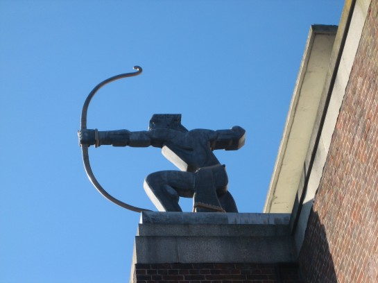 The archer at East Finchey station