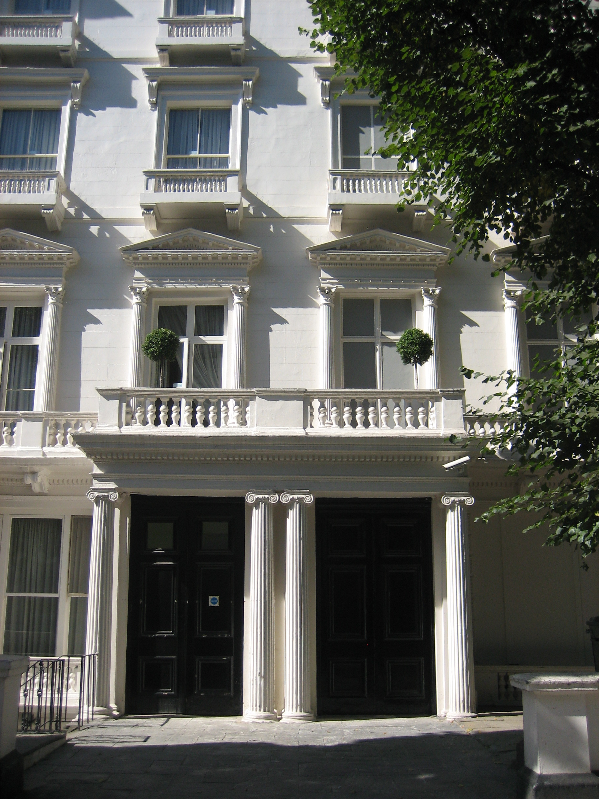 48 The Houses In Leinster Gardens 150 Great Things