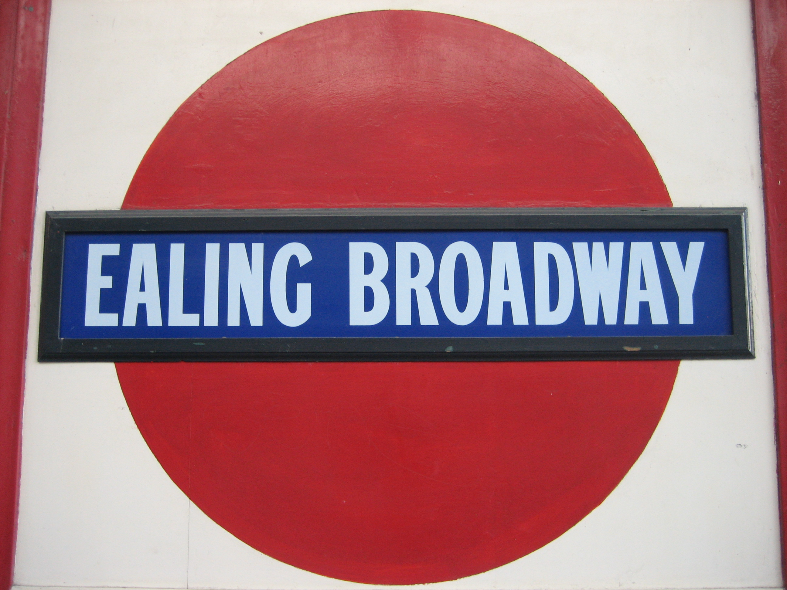 89 The old roundels at Ealing Broadway  150 great things about